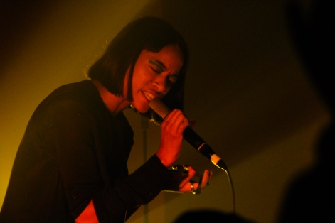 Kilo Kish performing at the Piccolo last night